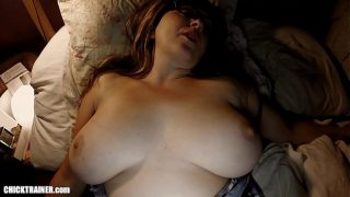 s. Booty's Big Tits: Waking up Wifey for a Midnight Fuck, Suck & Swallow. Hot Mom Britney lets her natural udders swing and bounce as she takes another cumshot right in the mouth.